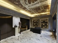 Givenchy Avenue Montaigne, Paris. Design by Joseph Dirand and Riccardo Tisci.