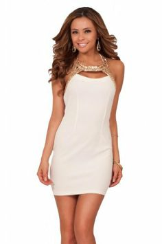 Sexy Mini Gold Sequin Sleeveless Cutout Halter Clubwear Tight Fitted Party Dress Hot from Hollywood,http://www.amazon.com/dp/B00GI1UEGA/ref=cm_sw_r_pi_dp_ivBVsb1M3V2796T9