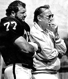 Lyle Alzado & Al Davis Los Angeles Raiders, 1982