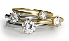 Handmade Diamond Engagement Rings. In case you are reading this page, it you might be wondering how a handmade gemstone is different from the normal types that are given to women. Once you h - Handmade Diamond Engagement Rings