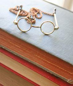 John Lennon Glasses Necklace