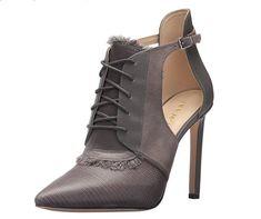 8aa1378343 Women's Nine West High Heel Pumps - Takeashot - Dk Grey Multi Synthetic -  New!