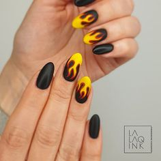 Nail Inspo, Nails Inspiration, Nail Colors, Colorful Nails, Art Ideas, Fire, Pictures, Beautiful, Pretty Nails