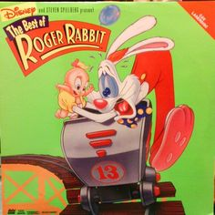 Roger Rabbit #Disney #animation #LD #Laserdisc #cover
