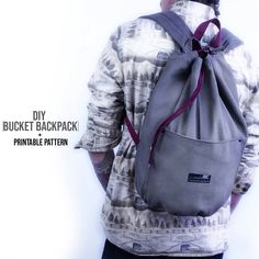 The Effective Pictures We Offer You About DIY Backpack keychains A quality picture can tell you many Diy Sewing Projects, Sewing Projects For Beginners, Diy Fashion Videos, Diy Videos, Fashion Ideas, Diy Backpack, Backpack Keychains, Backpack Pattern, Backpack Tutorial