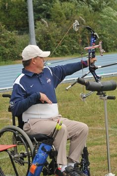 Meet Jerry Sheilds, stroke survivor and 2012 Team USA Archer at the London Paralympics.