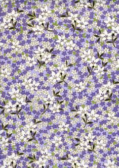 Japanese Yuzen Chiyogami Washi Paper Floral by CraftyPaperOz, $3.20