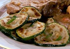 Get Sauteed Zucchini with Feta Recipe from Food Network Thyme Recipes, Herb Recipes, Vegetable Recipes, Vegetable Dishes, Slow Cooker Recipes, Crockpot Recipes, Cooking Recipes, Crockpot Meat, Sauteed Zucchini And Squash