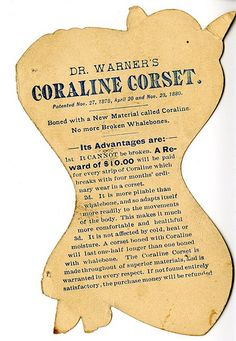 Dr. Warner's Coraline Corsets - Reverse | Flickr - Photo Sharing!
