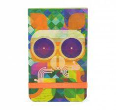 Monoblock :: Industry of imagineering  Mini-notes Santuario Lemur Ilustración por Christian Montenegro. Mini anotadores, para dejar mensajes o hacer tus listas. Formato: 7 x 11 cm. 64 páginas.