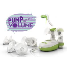 Pump up the Volume: https://www.ardobreastpumps.co.uk/essential-expressing-bundles/pump-up-the-volume  Breastfeeding bundle for expressing mums.