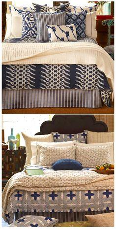 block print bedding/john robshaw