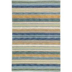 Sheffield Stripe Rug- Sea Grass – Scandia Down MN