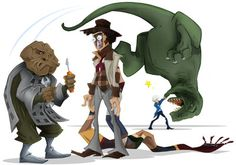 Android Invasion & Invasion of The Dinosaurs