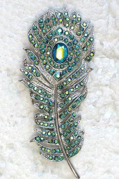 Emerald Brooches