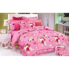 Posteľná obliečka pre deti s poníkmi Comforters, Blanket, Bed, Home, Creature Comforts, Quilts, Stream Bed, Ad Home, Blankets