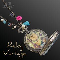 #reloj #relojes #relojdebolsillo #collarreloj #relojvintage #vintage #accesorioscolombia #accesoriosdemoda  #collaresdemoda #collares Videos, Bracelet Watch, Watches, Photo And Video, Instagram, Bracelets, Accessories, Pocket Watch, Fashion Accessories