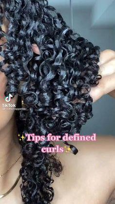 Curly Hair Routine, Curly Hair Tips, Curly Hair Care, Curly Hair Styles, Big Curly Hair, Natural Curls, Natural Hair Care, Natural Hair Styles, Natural Hair Tutorials