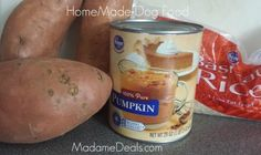 homemade dog food 1