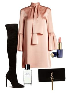 """Simple fall"" by pernillamaneschiold on Polyvore featuring Fendi, Yves Saint Laurent and Estée Lauder"