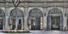 The stables of the Spanish Riding School in Vienna