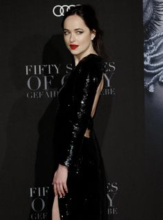 Dakota johnson Fifty shades darker premeire in Hamburg Germany february 7th