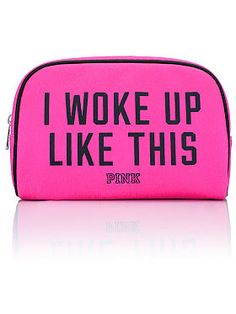 Fashion Show Large Makeup Bag from Victoria Secret! Large Makeup Bag, Makeup Bags, Makeup Brushes, Makeup Stuff, Makeup Kit, Beauty Stuff, Beauty Kit, Beauty Products, Beauty Makeup