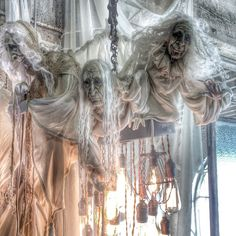 The ghost chandelier