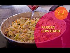 Farofa Low carb - Aprenda como fazer   Você Mais Fitness - YouTube