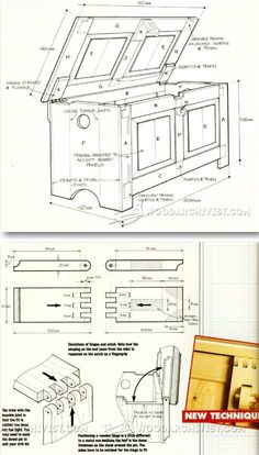 Build Blanket Chest - Furniture Plans and Projects   WoodArchivist.com