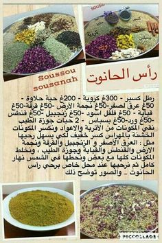 Tunisian Food, Cooking Tips, Cooking Recipes, Algerian Recipes, Spices And Herbs, Arabic Food, Health Diet, No Cook Meals, Pasta Dishes