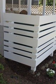 Hide that ugly A/C unit or trash can!