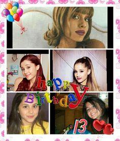 Happy birthday arianita