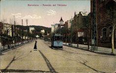 AVINGUDA TIBIDABO, Postcard Barcelona Katalonien, Avenida del Tibidabo, | akpool.co.uk