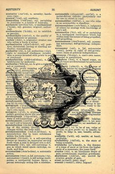 Vintage Art and Antique Book Pages
