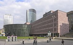 Dortmund Municipal Library by Mario Botta Architect