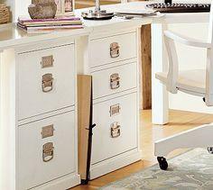 Bedford 3-Drawer File Cabinet #potterybarn