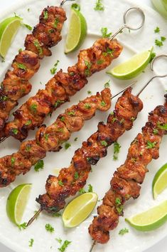 Peruvian Grilled Chicken Skewers Juicy, tender grilled chicken, bursting with vibrant flavor. These Peruvian Grilled Chicken Skewers are a delicious fusion of South American and Asian cuisines! Grilled Chicken Tenders, Grilled Chicken Recipes, Fried Chicken, Chicken Kabobs, Chicken Steak, Grilled Fish, Marinated Chicken, Grilling Recipes, Cooking Recipes