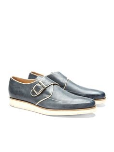 MR. HARE - Leather Monkstrap Creepers $665 » Love everything especially the buckle