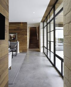 Hill Country Residence - contemporary - hall - austin - by Cornerstone Architects