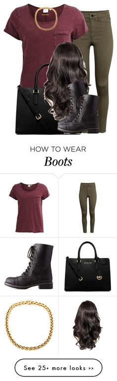 """""""."""" by trillest-queen on Polyvore featuring H&M, Object Collectors Item, MICHAEL Michael Kors and Charlotte Russe"""
