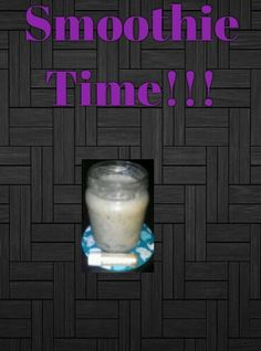 Delicious, ice cold smoothie recipe.