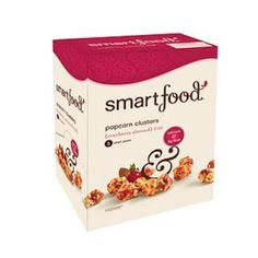 Healthy Snack: Smartfood Cranberry Almond Popcorn Clusters - 40 Crunchy and Creamy Healthy Snack Ideas Under 200 Calories - Shape Magazine