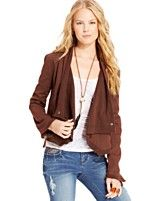 American Rag Draped Jacket