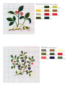 croci e delizie Cross Stitch Numbers, Cross Stitch Alphabet, Cross Stitch Embroidery, Cross Stitch Patterns, Cross Stitch Fruit, Cross Stitch Flowers, Loom Patterns, Loom Beading, Blackwork