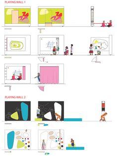 Tromso kindergarten by 70°N arkitektur - concept drawings