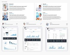 At least tell the story of your data in Designing Data-Driven Interfaces - Web Portfolio, Portfolio Design, Portfolio Layout, Personas Design, Web Design, Build An App, Dashboard Design, Kpi Dashboard, App Design Inspiration