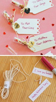 Handmade Message in a Bottle Valentines | Click Pic for 38 DIY Valentine Gifts for Him | DIY Valentine Gifts for Boyfriend