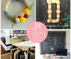 24 spring diy projects