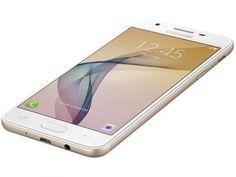 """Smartphone Samsung Galaxy J5 Prime 32GB Dourado - Dual Chip 4G Câm. 13MP + Selfie 5MP Tela 5"""" HD com as melhores condições você encontra no Magazine Virtualgold. Confira!"""
